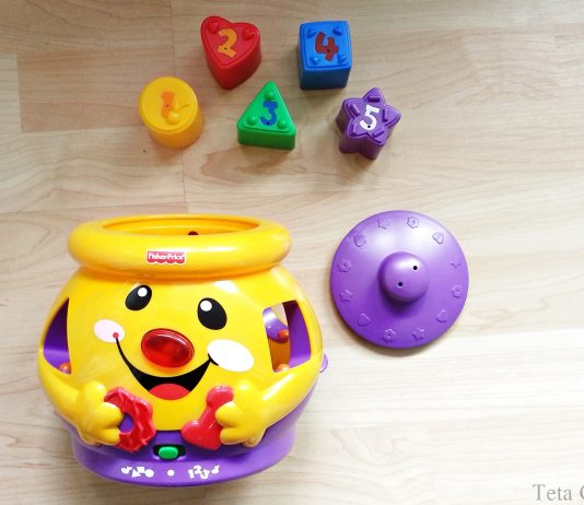 Fisher Price Lonček presenečenja (Laugh & Learn) by Teta Gabi
