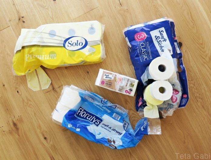 Na testu - toaletni papir by Teta Gabi